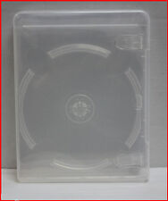 18 Pk New Premium PlayStation 3 Replacement Case PS3 Blu-Ray Box Transparent