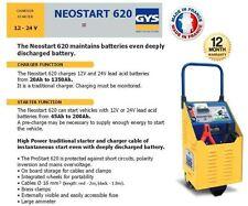 GYS NEOSTART 620 12 - 24 Volt Profi Batterie Anlasser + Ladegerät 620 AMP
