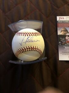 Julio Teheran Autographed Signed Baseball Atlanta Braves Romlb Jsa Certified