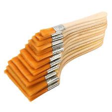 12pcs Nylon Hair Artist Acrylic Watercolor Painting Brushes Set Wooden Handle