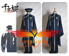 Vocaloid Kaito Senbonzakura Uniform Cosplay Costume Custom With Hat