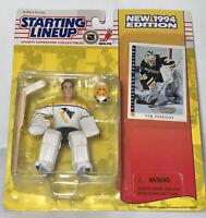 1994 TOM BARRASSO Pittsburgh Penguins Starting LineUp SLU ROOKIE figure US card