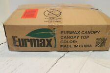 Replacement Eurmax Gazebo Polyester Top Cover For 10x10 Ez Pop Up Canopy Tent