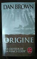 Origine - Dan Brown - neuf -Français