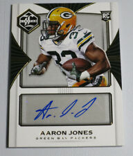 Aaron Jones 2017 Panini Limited Auto /99 Autograph Packers RC Rookie