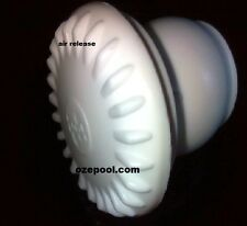 Air release for your spa jets, are yours all old looking? White, 25mm slip fit