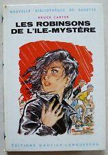 Les Robinsons de l' Ile Mystère B CARTER & JOUBERT éd Gautier-Languereau 1960