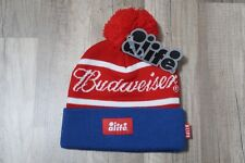 ALIFE x BUDWEISER Signature Label Blue White Red Beanie