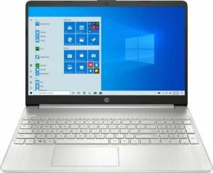 """HP 15.6"""" Touch-Screen Laptop Intel Core i5 12GB Memory 256GB SSD Natural Silver"""