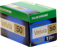Fuji Velvia 50 asa 35mm Colour Slide reversal  Film 36 exposures (UK Stock) BNIB