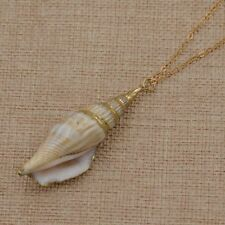 Gifts Jewelry Collar Women Beach Style Necklace Natural Conch Shell Pendant