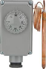 Gehäusethermostat GT 0 - 90 ° C Kapillarlänge 1 m Thermostat mit Kapillarleitung