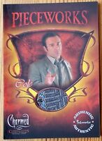 Buffy 10th Anniversary Pieceworks Chase Card PW-7 Giles Costume Card