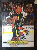UPPER DECK 2019-2020 SERIES ONE MATTHEW TKACHUK CANVAS HOCKEY CARD C-82