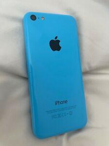Unlocked Apple iPhone 5c - 16GB - Blue (Sprint) A1456 (CDMA + GSM)