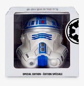 "New LARGE 6"" Vinylmation STAR WARS LEGION DROID R2-D2 Stormtrooper Helmet"