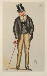 "Henry Francis Seymour Moore 3rd Marquess of Drogheda Vanity Fair 12x8"" Print"