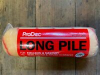 "ProDec 9"" 1.75"" 1 3/4"" Premium Long Pile Paint Roller Ideal For Emulsion Masonry"