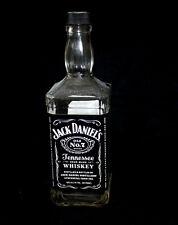 Jack Daniels Old No 7 Empty Whiskey Bottle for DIY Lamp Crafts Cut Vase Glass