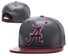 6e17a66beea Alabama Crimson Roll Tide Hat NCAA Cap Flat Bill Snapback Hat