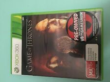 Game of Thrones - XBOX 360 - Game - VGC Complete