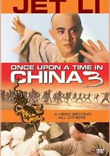 Tsui Hark's ONCE UPON a TIME in CHINA 3, Jet Li Rosamund Kwan/NEW / SEALED DVD