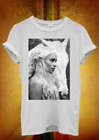 Game of Thrones Khaleesi Hipster Cool Men Women Unisex T Shirt Tank Top Vest 140