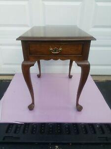 Vintage Leonard STICKLEY CHERRY end table
