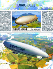 Sierra Leone 2017 MNH Dirigibles Zeppelins Airships 1v S/S Aviation Stamps