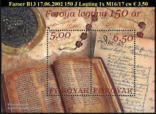 FAROER B13 150 Jr Logting (Parlement)