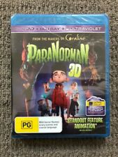 ParaNorman 3D (Blu-ray, 2013) NEVER PLAYED & SEALED