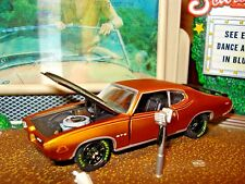 1969 69 PONTIAC GTO JUDGE 455 LIMITED EDITION 1/64 M2 1960'S MUSCLE