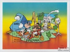 Tanzania block142 (complete issue) unmounted mint / never hinged 1991 Micky Maus