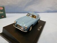 ATLAS 1:43 Light Blue 1950's AC ACECA Father of AC Cobra Diecast Car Diorama Toy
