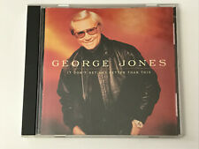 George Jones - It Don't Get Any Better Than This (11 Track CD)