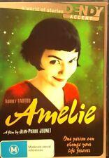 AMELIE DVD AUDREY TAUTOU 2001 FREE POST WITHIN AUSTRALIA