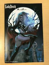 Lady Death Sworn #1 MOONLIGHT Variant Cover by MIRKA ANDOLFO Signed Pulido /150