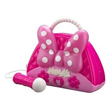 Minnie Mouse Voice Change Boombox With Microphone! Sing Along To Built In...