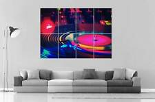 DJ VINYLE NIGHT CLUB wall Art Poster Grand format A0 Large Print