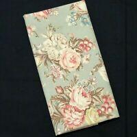 Vtg Ralph Lauren Charlotte King Pillowcase Sage Green Floral Cottage Chic