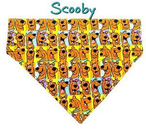 Scooby Doo Dog Bandana, Over the Collar dog bandana, Dog collar bandana cartoon