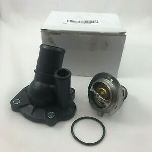 Black Thermostat Housing 3M4Z-8575-B for Ford Escape Focus Fusion Ranger Mercury