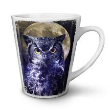 BESTIA Gufo Luna Cielo degli Animali NUOVO White Tea Tazza Da Caffè Latte Macchiato 12 17 OZ (ca. 481.93 g) | wellcoda