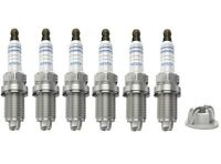 Spark Plugs x 6 Bosch Super Plus Fits Audi A4 A6 BMW 3 5 series E36 E46 E34 E39