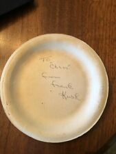 Frank Kush - Hall of Fame Football Coach for ASU -Autograph
