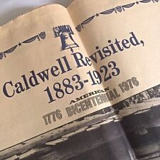 The News Tribune Supplement Caldwell Revisited 1883-1923 American Bicentennial