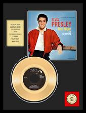 """ELVIS PRESLEY - ONE NIGHT 7"""" GOLDENE SCHALLPLATTE"""