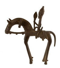 Cavalier Dogon Bronze du Mali Art Africain -21 cm  AA 799