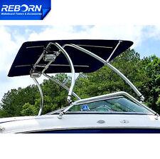 Reborn Pro2 Extra Large Wakeboard Tower Bimini 1970V | Black Canopy