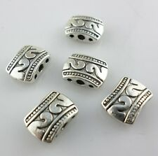 16pcs Tibetan Silver 3 Hole Connectors Bails Charms Beads Findings 8x11mm